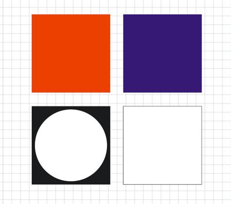 手前、奥、マスクの3種類の画像