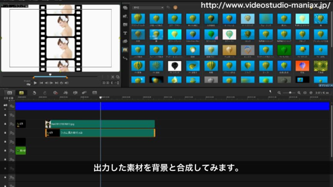 映写機フィルム効果 (13)