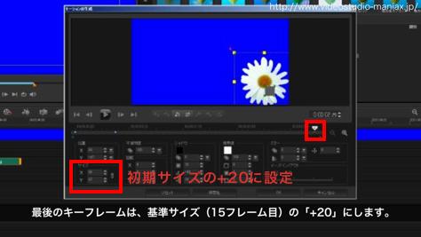 VideoStudioで花が咲く効果 (9)