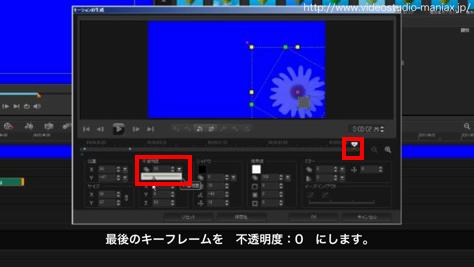 VideoStudioで花が咲く効果 (13)