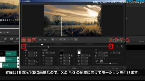VideoStudioで罫線で画面を分割する (8)